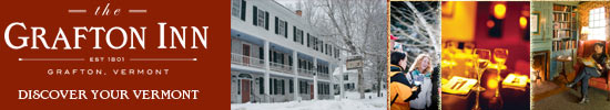 The Old Tavern at Grafton, Vermont - An historic Vermont country inn located in the heart of Grafton.